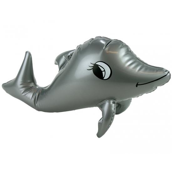 Grijze opblaasbare dolfijn