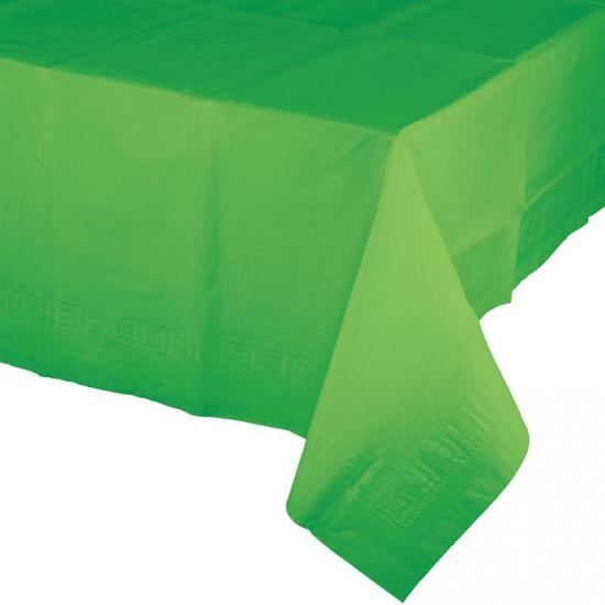 Groen tafelkleed 274 x 137 cm