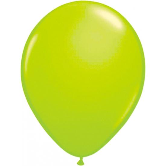 Groene helium ballonnen 50 stuks