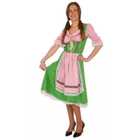 Groene Oktoberfest verkleedkleding voor dames