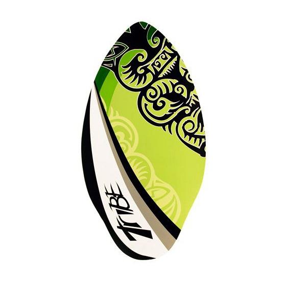 Groene skimboard met tribe print