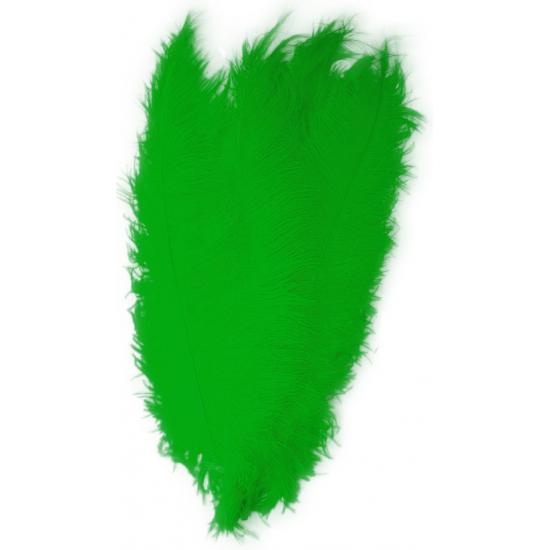 Groene spadonis sier veren