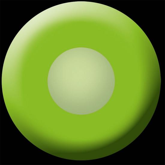 Groene UV feestlenzen