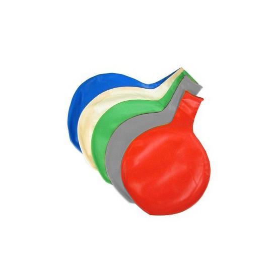 Grote ballon 65 cm grijs