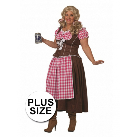 Grote maten Oktoberfest jurk