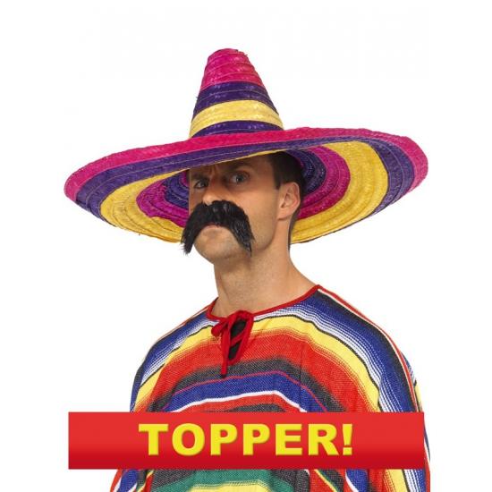 Grote Mexicaanse sombrero