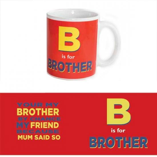Grote theemok voor broer