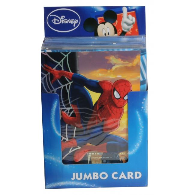Grote verjaardagskaart Spiderman 26 x 38 cm