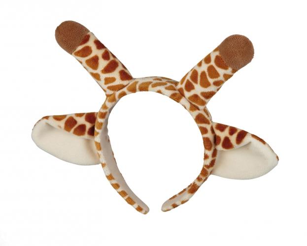 Haarband giraffe met oren