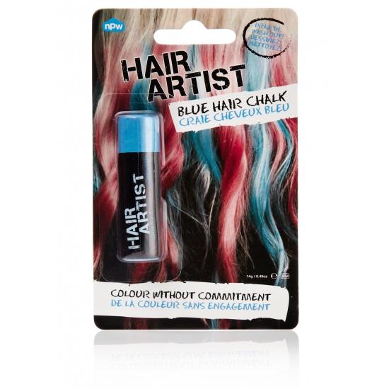 Haarverf in de kleur blauw