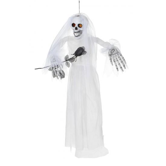 Halloween decoratie pop skelet bruid