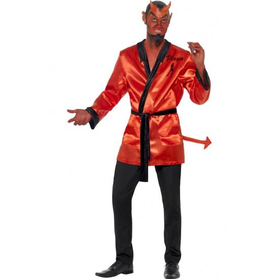 Halloween duivelse player kostuum
