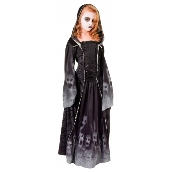 Halloween kinderjurk met spookjes