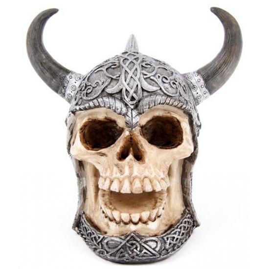 Halloween Spaarpot Keltische schedel