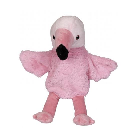 Handpop flamingo 27 cm