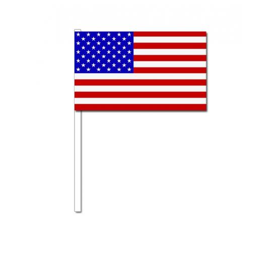 Handvlag Amerika 12 x 24 cm
