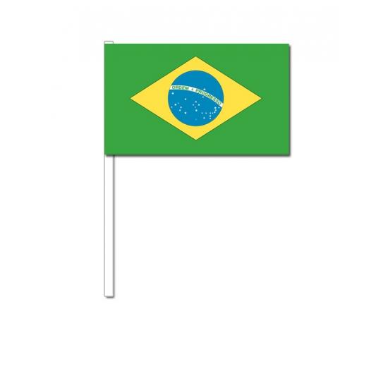 Handvlag Brazilie12 x 24 cm