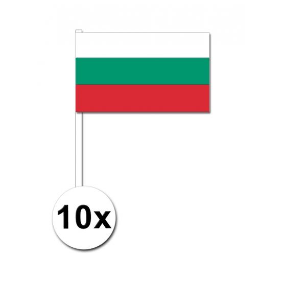 Handvlag Bulgarije set van 10