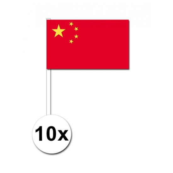 Handvlag China set van 10