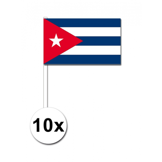 Handvlag Cuba voordeelset van 10