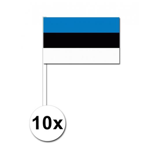 Handvlag Estland set van 10