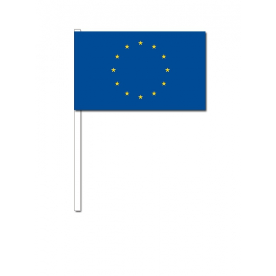 Handvlag Europa 12 x 24 cm