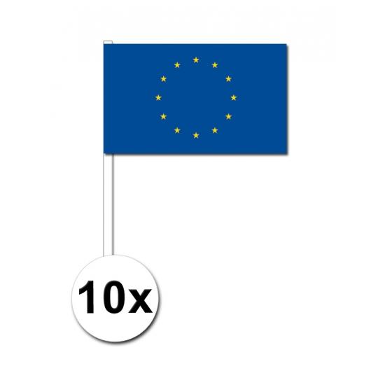 Handvlag Europa set van 10