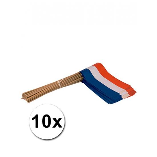Handvlag Holland set van 10