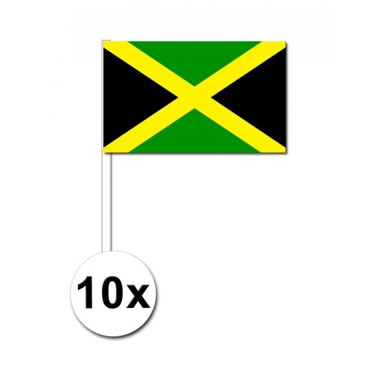 Handvlag Jamaica set van 10