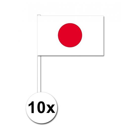 Handvlag Japan set van 10
