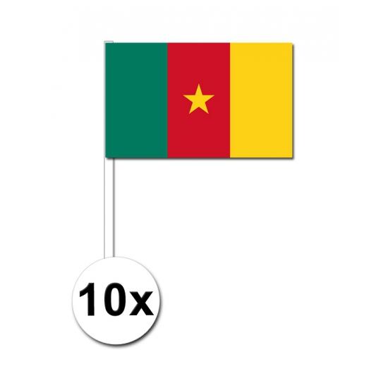 Handvlag Kameroen set van 10