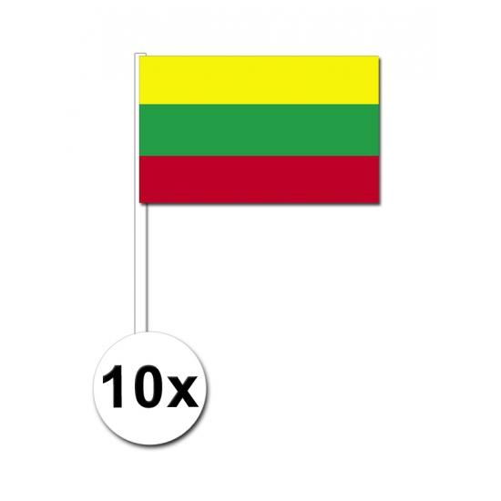 Handvlag Litouwen set van 10