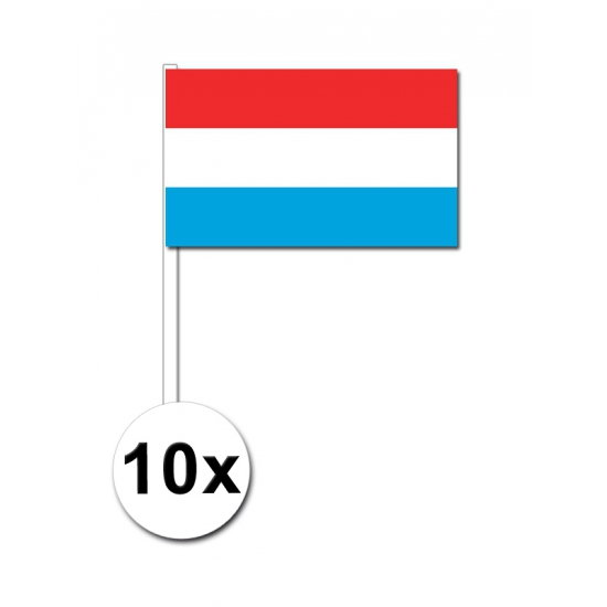 Handvlag Luxemburg set van 10