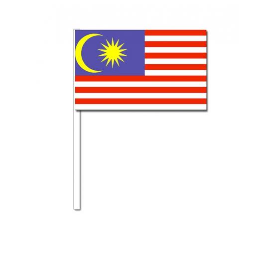 Handvlag Maleisie 12 x 24 cm