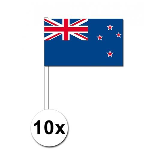 Handvlag Nieuw Zeeland set van 10