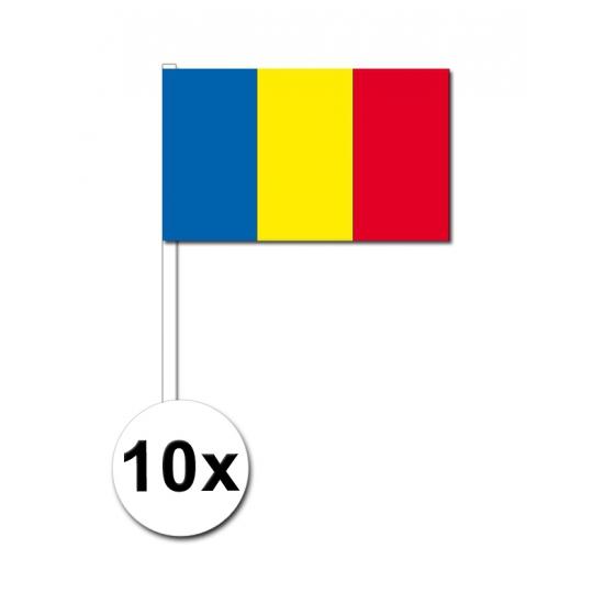 Handvlag Roemenie set van 10