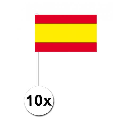 Handvlag Spanje set van 10