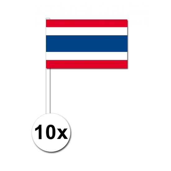 Handvlag Thailand pakket van 10