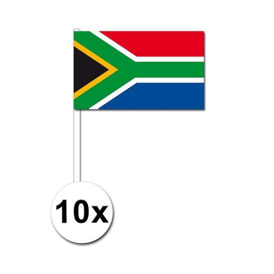 Handvlag Zuid Afrika set van 10