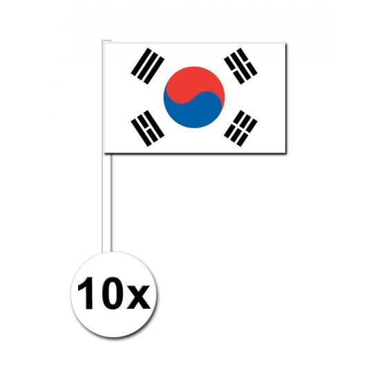 Handvlag Zuid Korea pakket van 10
