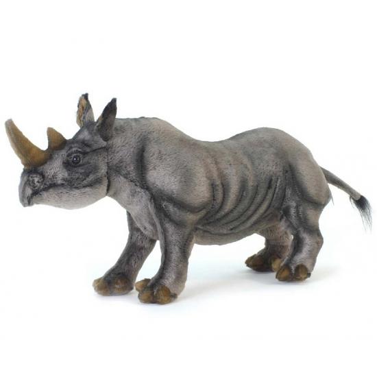 Hanse neushoorn zwart 46 cm