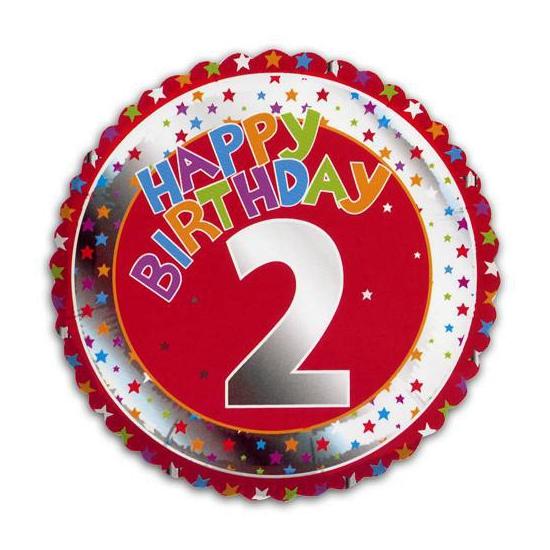 Happy Birthday 2 jaar verjaardag