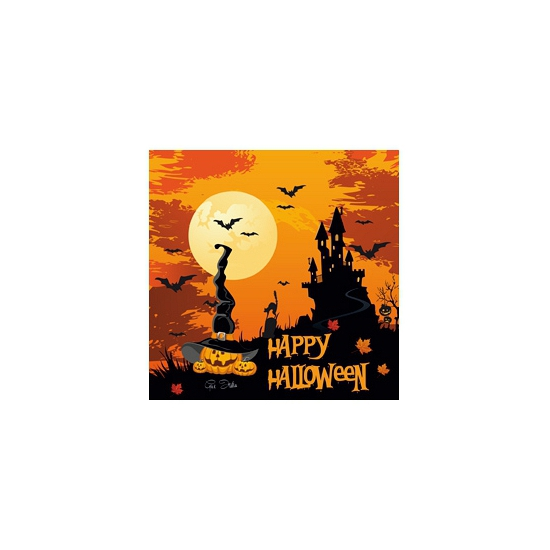 Happy Halloween servetjes 20 st