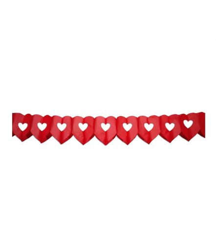 Hartjes slinger 6 meter rood