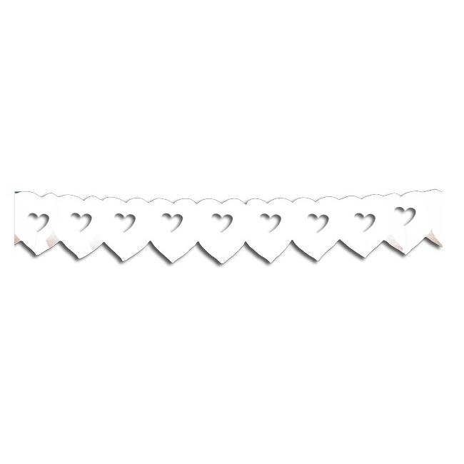Hartjes slinger 6 meter wit