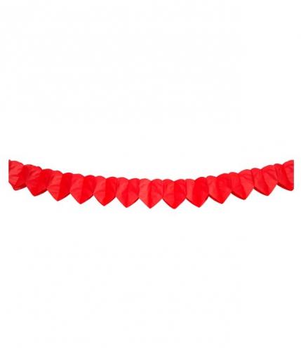 Hartjesslinger rood 2 meter