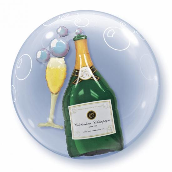 Helium folie ballon champagne 60 cm