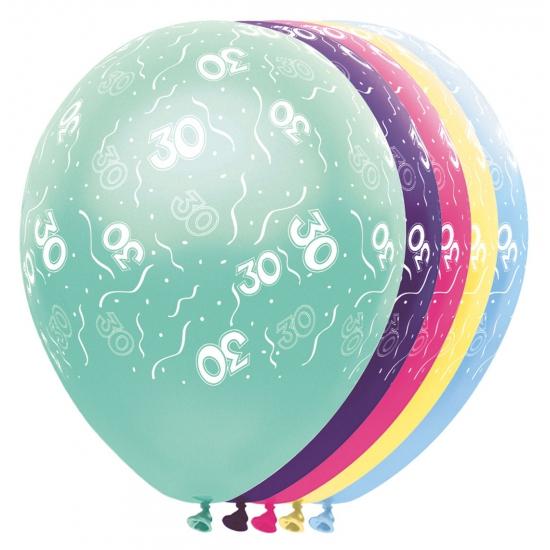 Helium leeftijd ballonnen 30 jaar