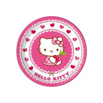 Hello Kitty bordjes 8 stuks