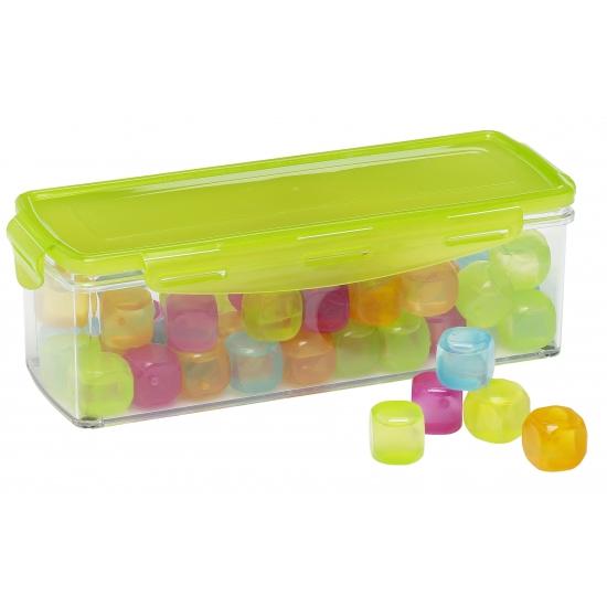 Herbruikbare ijsblokjes in doos